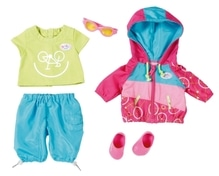 Zapf BABY born® Play&Fun Deluxe Biker Outfit