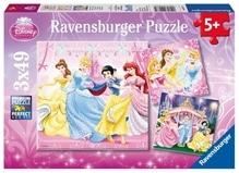 Ravensburger 92772  Puzzle Schneewittchen 3 x 49 Teile