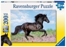 Ravensburger 128037  Puzzle Schwarzer Hengst 200 Teile