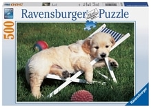 Ravensburger 141791  Puzzle Golden Retriever 500 Teile