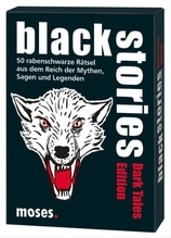moses black stories - Dark Tales Edition