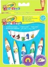 Crayola Mini Kids Buntstifte groß 8 Stück