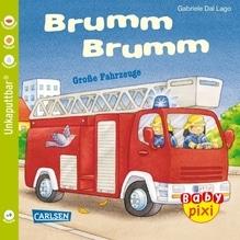 Baby-Pixi Brumm, Brumm Große Fahrzeuge