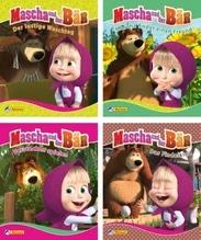 Minibuch Mascha und der Bär 1-4