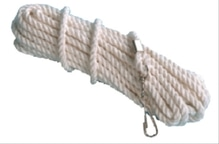 Spielmaus Outdoor Schwungseil mit Wirbel, Länge 8m