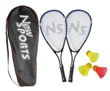 New Sports Speedbadminton Set in Tasche