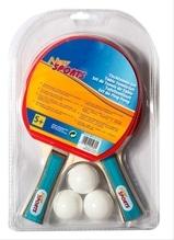 New Sports Tischtennis Set, 2 Schläger+3 Bälle