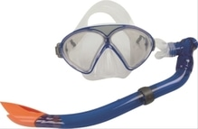 Splash & Fun Maske + Schnorchel ''Kid'', Silikon, 8+