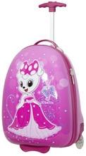 Kindertrolley Prinzessin Kinderkoffer pink