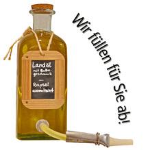 Laux 'Landöl mit Buttergeschmack', in verschiedenen Flaschenformen und Mengen!