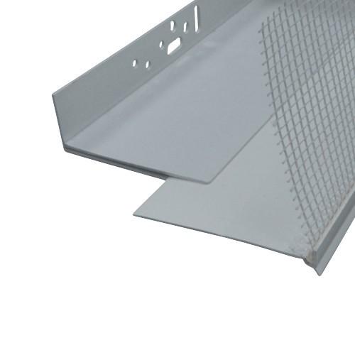 PVC Sockelprofil Vario 100mm-220mm 100mm-140mm