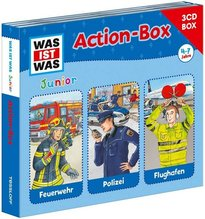 WAS IST WAS Junior Action-Box, 3 Audio-CDs | Jeremies, Christian; Jeremies, Fabian