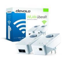 DEVOLO 9834 DLAN 550+ WiFi Starter Kit Powerline