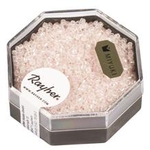 Delica-Rocailles, 1,6mm ø, perlglanz, Dose, puderrosa, 8g
