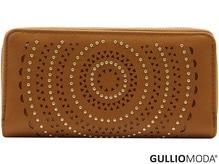 GULLIOMODA® Damengeldbörse in PU (PU26) Cognac