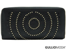 GULLIOMODA® Damengeldbörse in PU (PU26) Schwarz