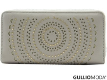 GULLIOMODA® Damengeldbörse in PU (PU26) Beige