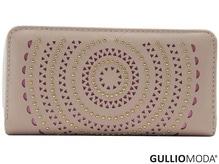 GULLIOMODA® Damengeldbörse in PU (PU26) Rosa