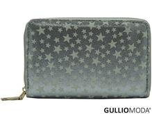GULLIOMODA® Damengeldbörse in PU (PU20) Silber