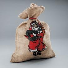 35x50cm Jutesack mit Kordel Weihnachten Dekoration