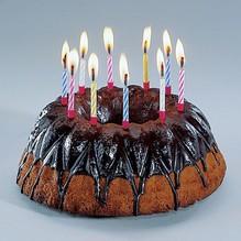10 Stck. magische Kerzen Geburtstagskerzen mit Halter