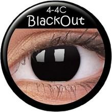 Paar Kontaktlinsen Hexe/Black Out