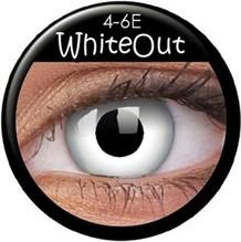 Paar Kontaktlinsen Zombie/White Out