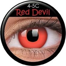 Paar Kontaktlinsen Teufel/Red Devil