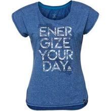 Odlo Damen T-Shirt Helle s/s Farbe: energy blue melange 350061