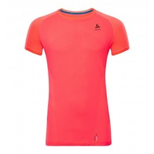 Odlo Damen T-Shirt BL TOP Ceramicool 350121 fired coral