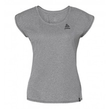 Odlo Damen T-Shirt BL Top Crew Neck Helle grey melange 350271