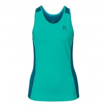 Odlo Damen Tank BL TOP Ceramicool pool green-crystal tea 350231