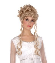 Perücke Clementia blond Princessin Barock Rokoko