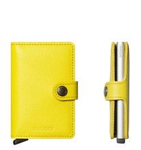 Secrid Credit Card Protector Mini Wallet lemon crisple Kreditkartenbox MC-Lemon