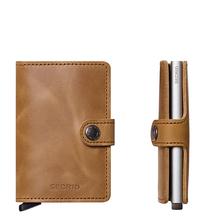 Secrid Credit Card Protector Mini Wallet Cognac Vintage Kreditkartenbox MV-cognac