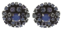 Konplott Ohrringe Stecker Ballroom blue