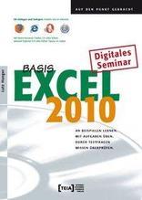 Excel 2010 Basis | Hunger, Lutz