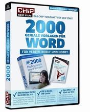 CHIP 2000 geniale Vorlagen für WORD