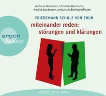 Miteinander reden Teil 1: Störungen und Klärungen | Schulz von Thun, Friedemann