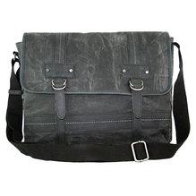 Maestro Herren Überschlagtasche A4 Canvastasche 2471