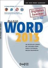 Word 2013 Basis Lernprogramm | Hunger, Lutz; Seidel, Erik