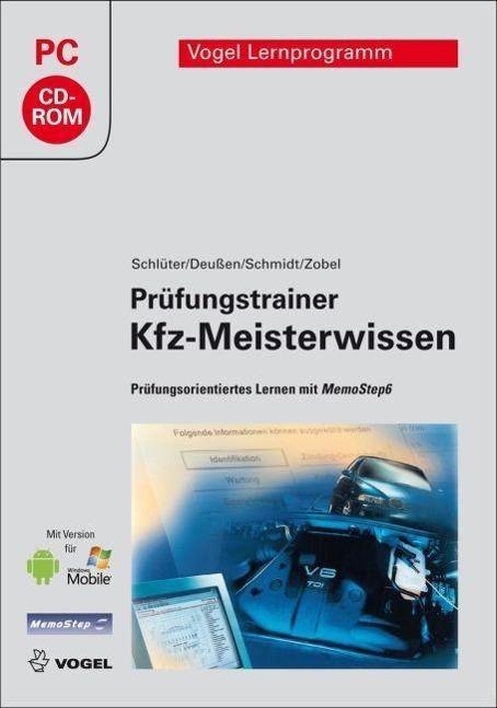 Prüfungstrainer Kfz-Meisterwissen | Schlüter, Volkert; Deußen, Ralf; Schmidt, Jörg; Zobel, Carl-Heinz
