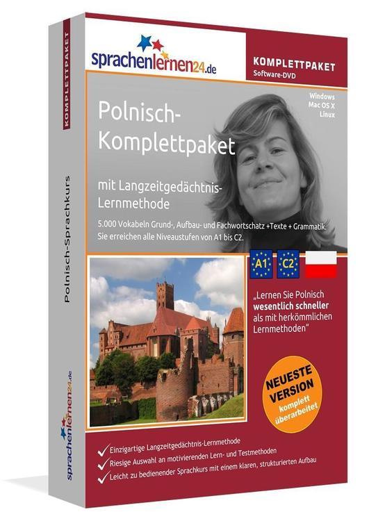 Sprachenlernen24.de Polnisch-Komplettpaket (Sprachkurs)