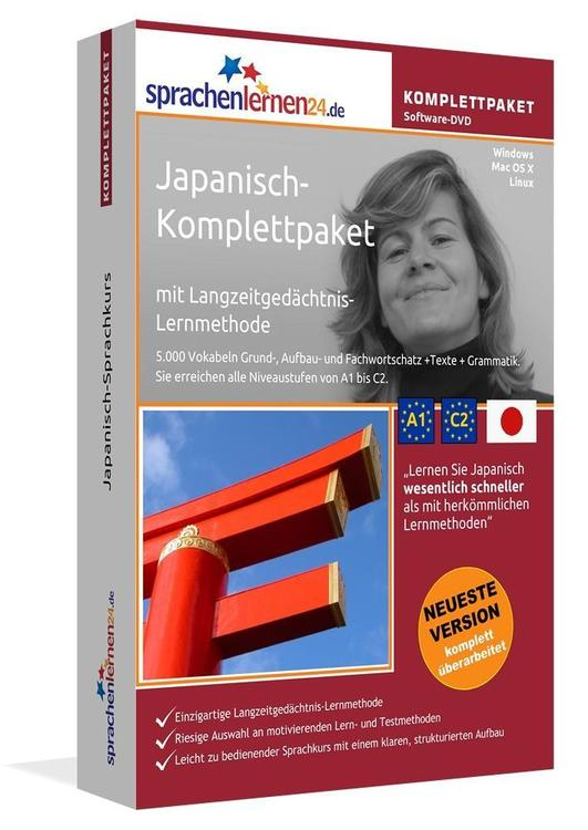 Sprachenlernen24.de Japanisch-Komplettpaket (Sprachkurs)