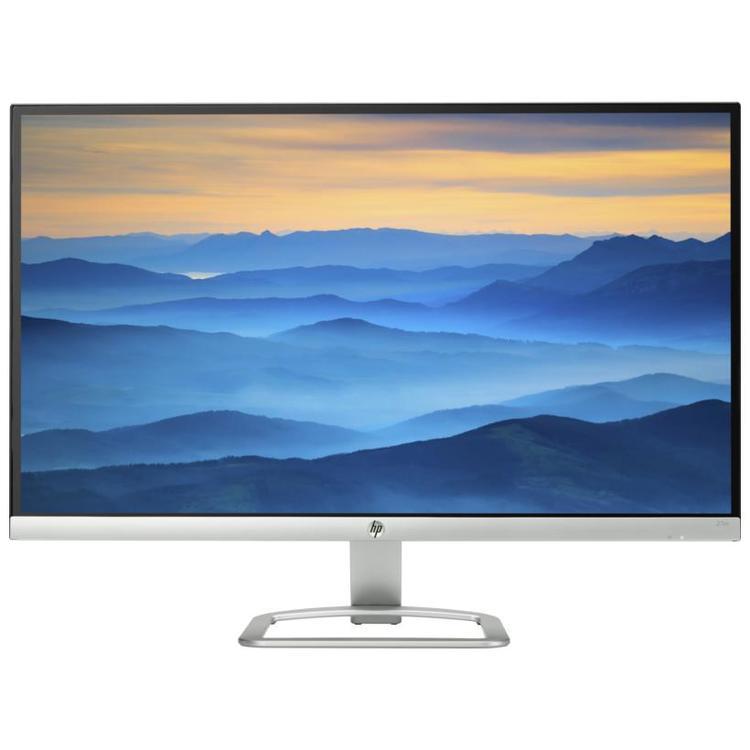 HP 27ER / 1920 x 1080 / 16:9 / 7 ms / 2 x HDMI / silber-weiß / 3 Jahre Garantie EEK: A+