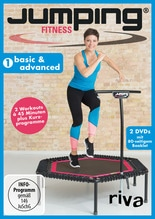 Jumping Fitness - cardio & circuit. Vol.1, 2 DVDs | Westphal, Antonia
