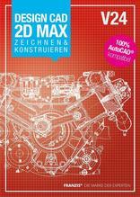 Design CAD 2D Max Zeichnen & Konstruieren V24