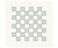 HeinDesign Grafische Schablonen -  Schachbrett