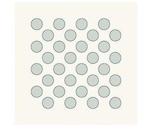 HeinDesign Grafische Schablonen - Dicke Punkte