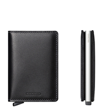 Secrid Credit Card Protector Slim Wallet Black Kreditkartenbox SO-Black